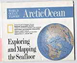 National Geographic Map of Arctic and Atlantic Ocean Floors