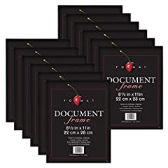 MCS Classic Format frames are simple to use and easy to hang. To put your picture in the thin edged frame, you just pop out the smooth trimmed glass, insert you picture and pop the glass back in the frame. The frame has molded openings in the...