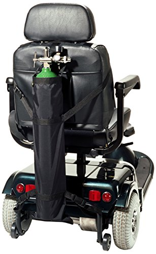 - EZ-ACCESS EZ-Accessories Scooter Single Oxygen Tank Carrier for D & E Cylinders