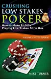 Crushing Low Stakes Poker: How to Make $1,000s Playing Low Stakes Sit 'n Gos, Volume 3: Hyper Turbos
