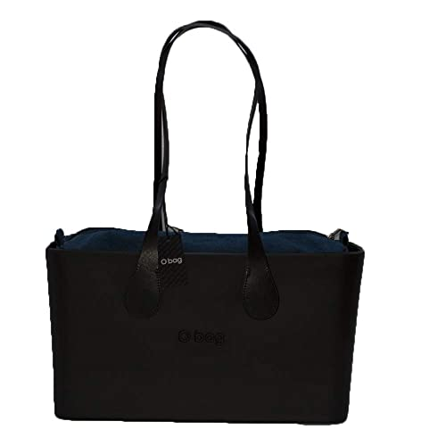 Borsa o bag o city nera con sacca e manico lungo marrone new collection (k 6de3dc4f4ec