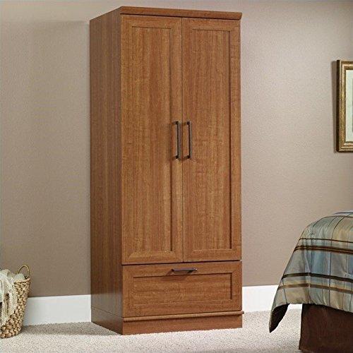 042666108621 - Sauder Homeplus Wardrobe/Storage Cabinet, Sienna Oak Finish carousel main 0