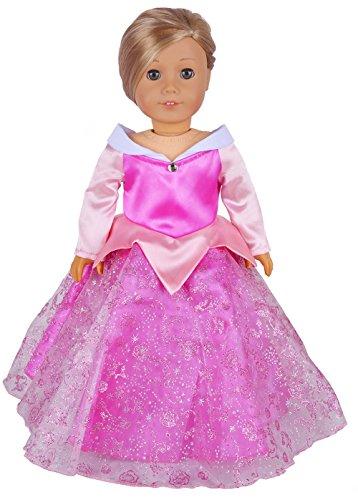 Ebuddy Halloween Coustome Long Sleeve Princess Doll Dress Cl