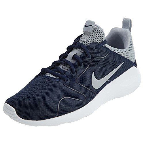 the latest e2e0e 169d2 Galleon - Nike Mens Kaishi 2.0 Running Shoe Midnight Navy Wolf Grey-White 12