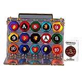 Poker Pool Balls