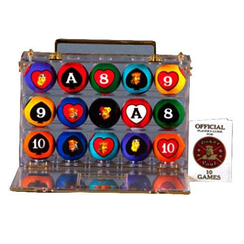 Poker Pool Balls by Crown Games Inc
