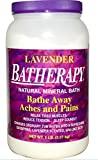 Batherapy Natural Mineral Bath, Lavender, 5 Pound