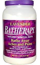 Batherapy Natural Mineral Bath, Lavender, 5 Pound