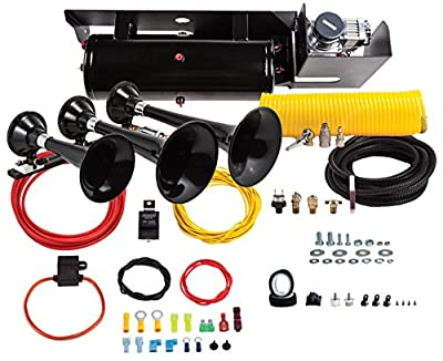 Kleinn Air Horns SDKIT-230 Bolt-On Train Horn/Onboard Air System for Ford F-250/F-350 Super Duty Diesel Trucks
