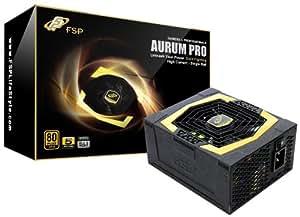 FSP Group 850W ATX Power Supply Modular Single rail 80+ GOLD, SLI Certified Compatible with Intel Core i3i5i7   (AU-850PRO)
