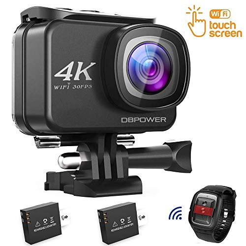 DBPOWER D5 Native 4K EIS Action Camera 2