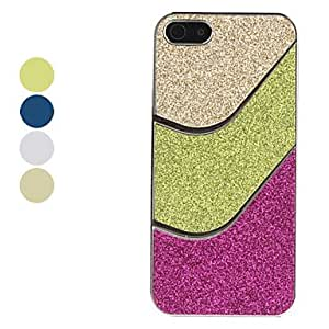 SJT Flash Powder Design Hard Case for iPhone 5/5S (Assorted Colors) , Yellow