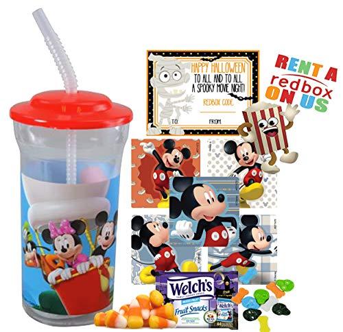 Mickey Mouse Halloween Redbox Movie Night Fun Sip