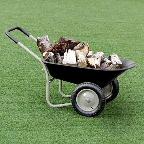 Buy 2 wheel wheelbarrow
