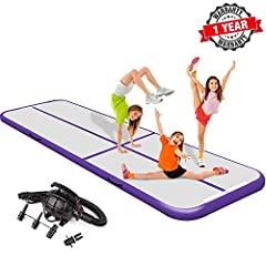 Teriitrack Air Track Tumbling Mats Makes Your Gym Is Anywhere You Are!Home edition gymnastics mat size available: 9.84 x3.28 x0.33ft 13.12 x3.28 x0.66ft 16.4 x3.28 x0.66ft 19.68 x3.28 x0.33ft 22.96 x3.28 x0.33ft 26.24 x3.28 x0.33ft 29.52 ...