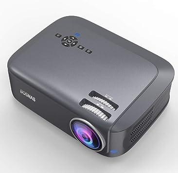Proyector Bosnas 2019 Proyector de Video Mejorado, 45000 Horas ...