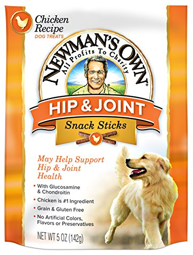 Newman's Own Functional Snack Sticks, Chicken Recipe Hip & Joint, 5-Oz. (Pack Of - Own Newmans Rice