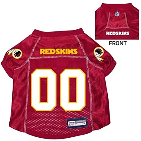 pretty nice 3c0fc 50a93 Washington Redskins Pet Dog Football Jersey SMALL