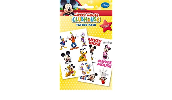 Mickey Mouse Clubhouse Temporary Tattoos (tatuajes temporales ...