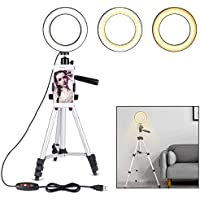 """B-Land 5.7"""" Ring Light with Tripod Stand for YouTube..."""