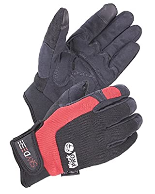 SKYDEERE Work Gloves - Synthetic Leather Heavy Duty Glove with Touch-Screen