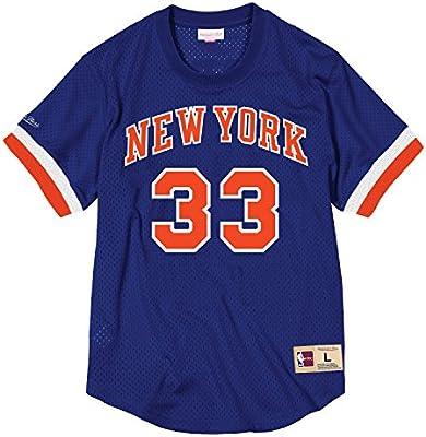 superior quality 9d25c 27e69 Mitchell & Ness Patrick Ewing New York Knicks #33 NBA Name ...