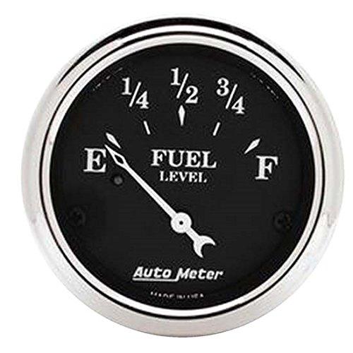 Auto Meter 1716 Old Tyme Black Fuel Level Gauge (1716 Oil)
