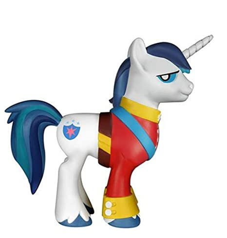 amazon com funko my little pony shining armor vinyl action figure