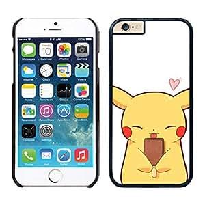 NEW DIY Unique Designed Case For iphone 6 plus Pikachu iphone 6 plus 5.5 TPU inch Phone Case 176