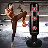 TUOWEI Punching Bag with Stand, Inflatable Punching