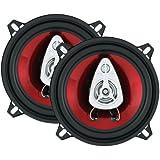 BOSS Audio CH5530 225 Watt (Per Pair), 5.25 Inch, Full Range, 3 Way Car Speakers (Sold in Pairs)