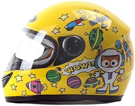 NJ ヘルメット- 子供用ヘルメットFour Seasonsユニバーサルフルフェイスヘルメット多色オプション (Color : C, Size : L28xH25cm)