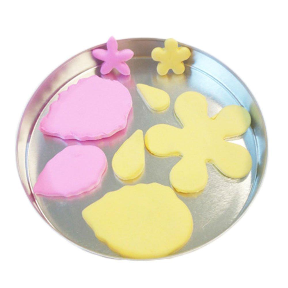 Cortadores de galletas, yoohome Juego de 12 Mini flores y hojas cortador de galletas, de acero inoxidable cortadores de masa para galletas, Cupcakes, ...