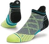 Stance Men's Endeavor Tab Running Sock, Volt, L