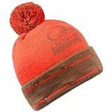 Forever Collectibles NFL Cleveland Browns LED Pom Pom Knit Hat, Orange, One Size