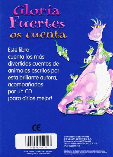 Gloria Fuertes: Os cuenta (Canta y Cuenta) (Spanish Edition) by Susaeta Ediciones, S.A. (Image #1)