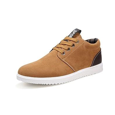 Chaussures plates de loisirs tendance pour homme Tennis respirantes 4 saisons Y2Ro2