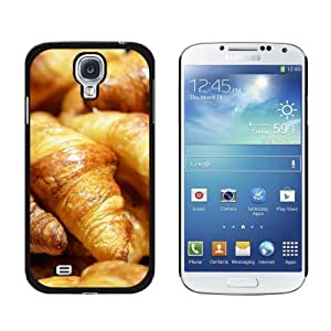 Croissants Bread - France Paris - Snap On Hard Protective Case for Samsung Galaxy S4 - Black