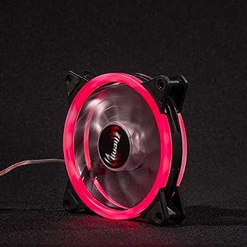 LED Cooling Fan RGB 120mm 12V Brushless Cooler For Computer Case PC CPU
