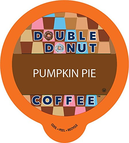 Copy Donut Flavored Coffee, Recyclable Single Serve Cups for Keurig K Cup Brewer, 80 Count (Pumpkin Pie)