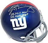 Eli Manning New York Giants Signed Autograph Full