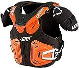 Leatt Fusion Vest 2.0 Youth Boys MotoX Motorcycle Body Armor - Orange / Small/Medium