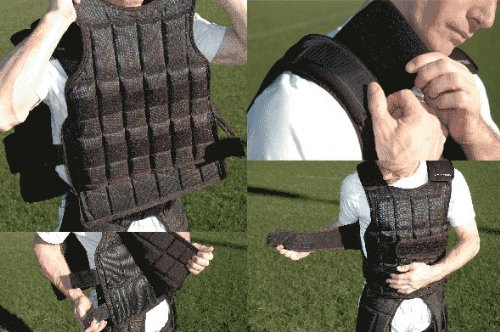 Under-vest Long 37lb. Kit Weighted Upgrade for the Long Uni-vest by Ironwear (Image #1)
