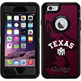 iPhone 6/6s Defender Case with Texas A&M Watermark, Full-Color Design
