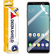 Samsung Galaxy A8 Screen Protector (2018)[2-Pack], DeltaShield BodyArmor Full Coverage Screen Protector for Samsung Galaxy A8 Military-Grade Clear HD Anti-Bubble Film