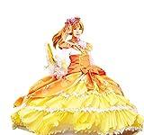 Mtxc Women's Love Live! Cosplay Honoka K¨saka Ball Dress SR Card Ver Size Medium Yellow