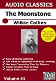 Moonstone Audiobook by Wilkie Collins on 1 DVD for Making iPod Smartphone Playlist Audio Books