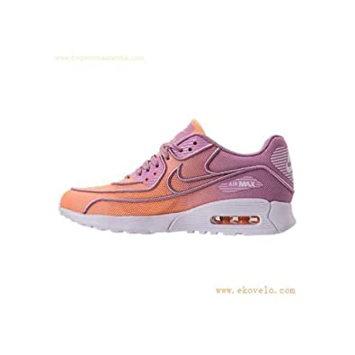 the latest 020ac 44109 Nike Frauen Air Max 90 Ultra 2.0 Br Low  Mid Tops Schnuersenkel Leder  Laufschuhe Orange