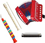 First Note USA Play Musical Instruments Accordion