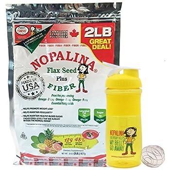 NOPALINA Flax Seed Plus Fiber 32OZ (2LB) (2LB)